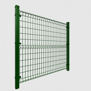 Chinese supplier White boundary wall wire mesh fence price
