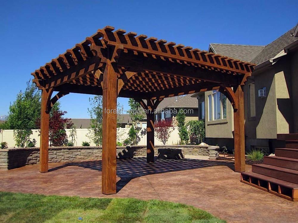 Peque as casas prefabricadas impermeable moderna casas de - Pergolas prefabricadas ...