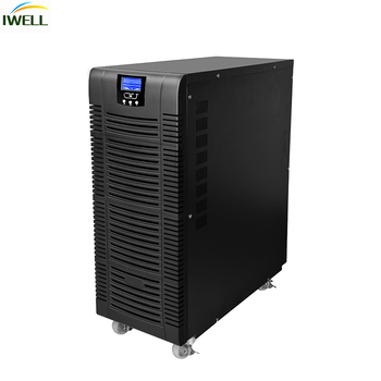 high frequency Pure Sine Wave Online 10kva transformer 3 phase online ups for Office Computer Use