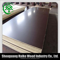 Wholesale new product top quality - 18mm film faced plywood for Decoration and Construction