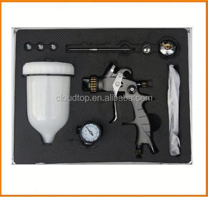 2015 newly upscale chrome spray gun china paintball