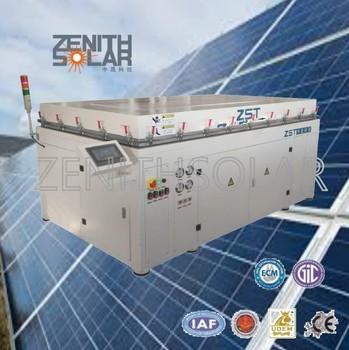 China Professional Laminating Machine For Making Solar