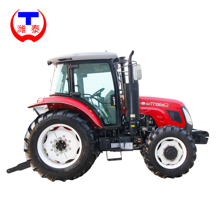 Large farming equipment 130HP 4x4 big tractor
