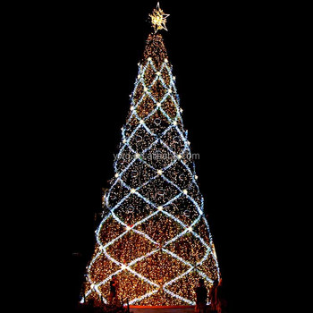 10m Outdoor Led Tree Giant Christmas Tree White Outdoor Lighted ...