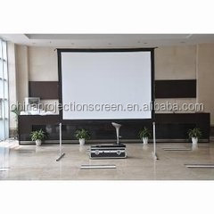 Excallent material ! fast fold projection screen good quality with low price offer by china projection gactory directly