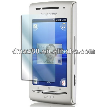 Screen protectors for Sony ericsson x8 oem/odm (High Clear)