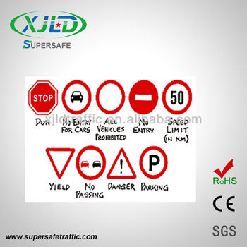 Exw Price For Road Traffic Signs Factory
