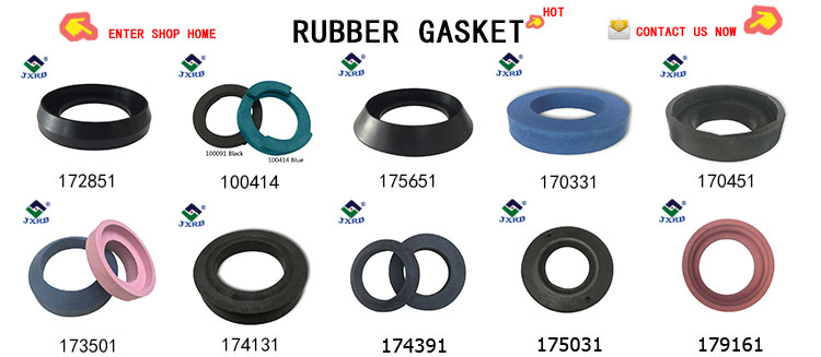 Factory price wc toilet bowl repair tool accessories kits round rubber ptfe gasket