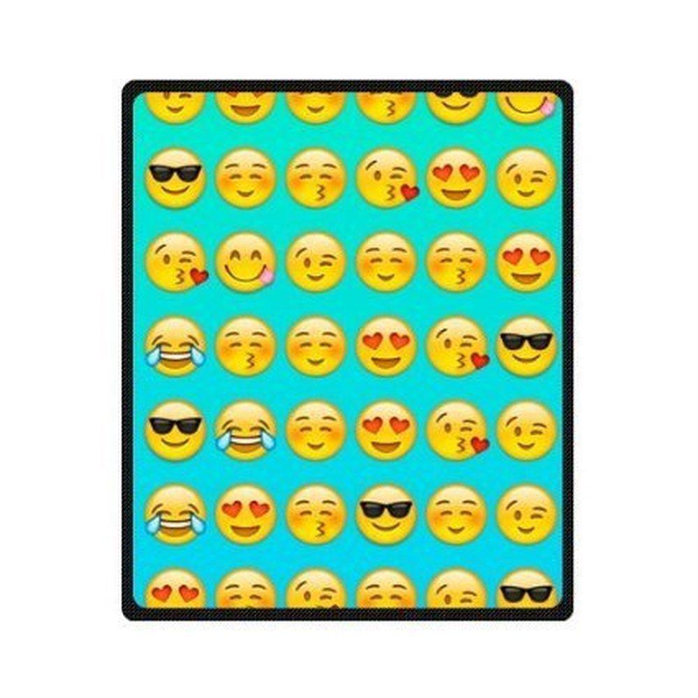 Creative Blanket Emojis Sofe Bed/Sofa Fleece Blanket Sheet Throw Bedding Blanket Sofe Bed/Sofa Fleece Throw 58 Inch x 80 Inch Large