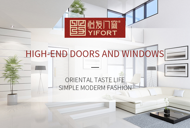 High quality fixed frame round top casement window