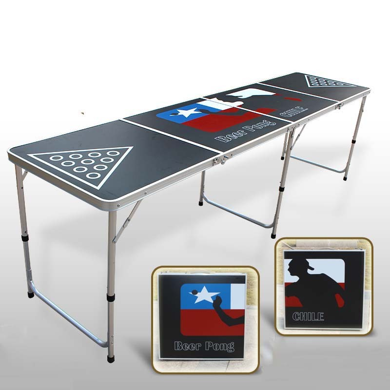 Portable Folding Aluminun <strong>Table</strong> Folding Beer Pong <strong>Table</strong> Outdoor Folding Beer Pong <strong>Table</strong>