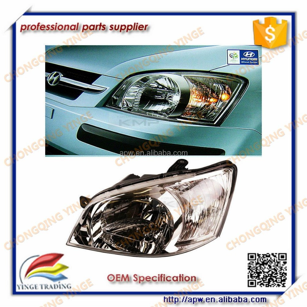 OEM 92102-1C010/92101-1C010 Headlight Head Lamp Auto Spare Parts for hyundai getz headlight