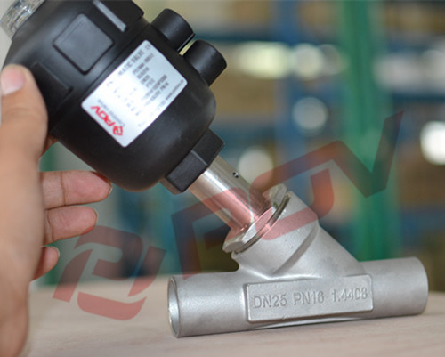 normally open welding Seat angle control valve for steam