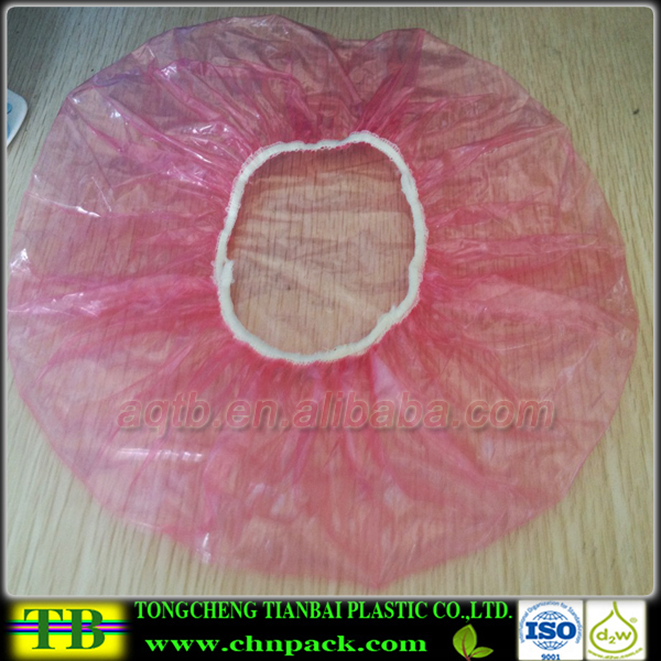Disposable Food Grade Custom Plastic Elastic Bowl Cover