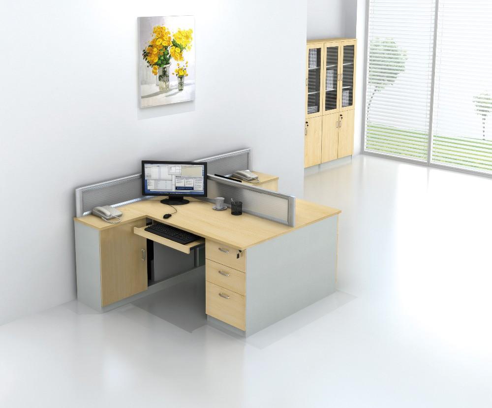 modern office furniture modular round 4 person office