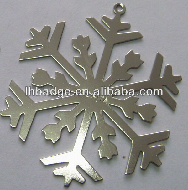metal christmas snowflake ornament,hanging snowflake decoration