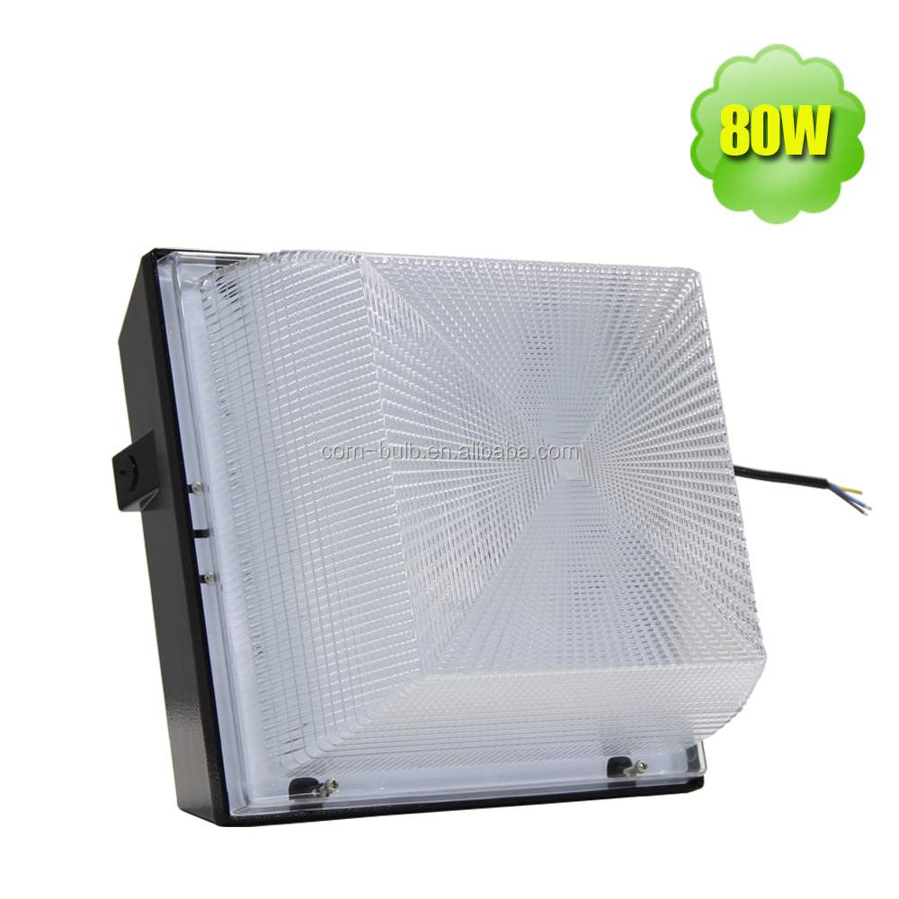 250w HPS replacement 80w ceiling downlight led canopy light gas station
