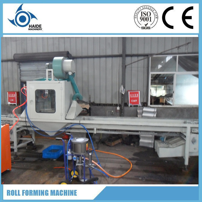 Stone Coated Metal Roof Tie Production Line Tile Making Machine