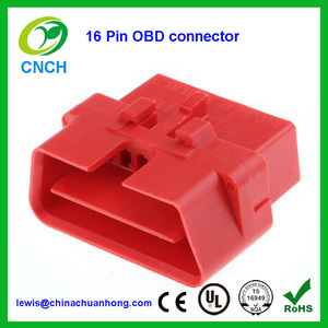 Delphi OBD II Series Connector 12110252 16 pin housing For OBD2 Cable Y Splitter Extension harness