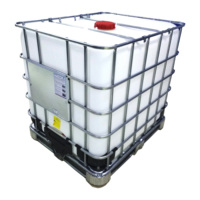 factory price 1000L steel cage ibc tank for oil storage