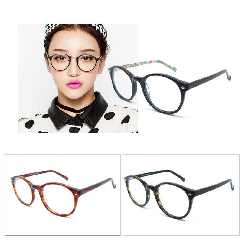 2018 vintage eyewear ronde eyegalsses frames dame glas frame lente flex frame b40201 brillen. Black Bedroom Furniture Sets. Home Design Ideas
