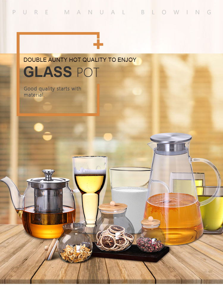 Fabrikanten dubbele muur bier borosilicate vriezer mok glas