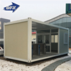 professional exporting CE and ISO certificate 20 feet expandable flat packed container house