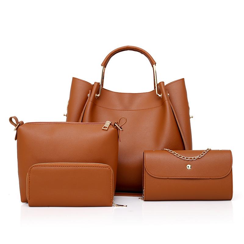 تصدير الوردي حزمة فرعية أربع مجموعات من التجارة الخارجية وصول جديدة لحقائب اليد حقائب نسائية