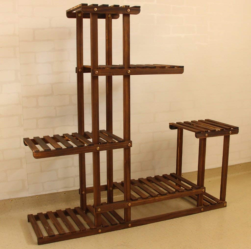 Chairs FL Pergolas/flower racks Multi-storey solid wood indoor and outdoor multi-storey wooden flowerpot simple and modern style flower display stands
