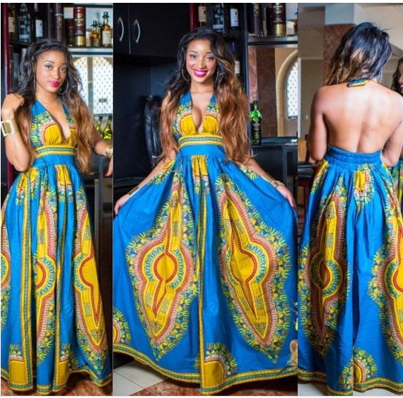 m40772 custom make xs-xxxxl beautiful african dress african plus