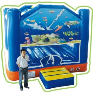 Cheer Amusement Ocean Themed Fun Bouncer Inflatable Toys