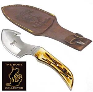 7in Bone Collector Skinning Knife The Bone Collector Knife Bone Handle Skinning Knife Bone Handle Knife Full Tang Skinning Knife