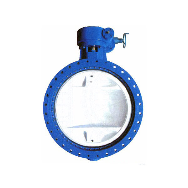 DF47 Water double flanged gear operated butterfly valve