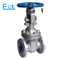 ANSI standard 3 inch gate valve with dimensions drawing