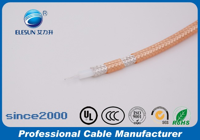 Best quality RG142 insulation high temperature coaxial cable