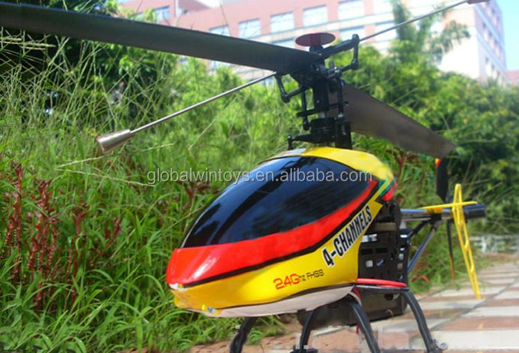 Sale 24g Big 4ch Single Blade Rc Toy Drone Remote Control