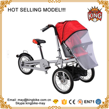 Folding 3 Wheels Bicycle 16inch Mother Baby Stroller Bike Carrier Bicycle Carrinho Baby Stroller Bike