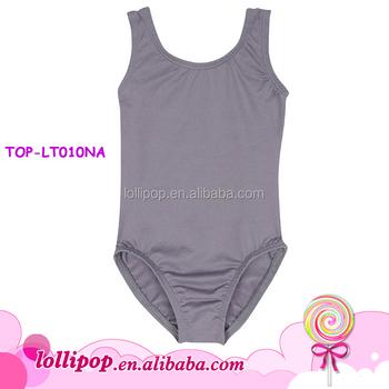 add5f2d7112bd Girls Boy Gymnastics Leotards Tank Lycra Ballet Dancer Leotards Cotton Baby  Class Gery Kids Dancewear Short Tops Sports Outfits - Buy Kids ...