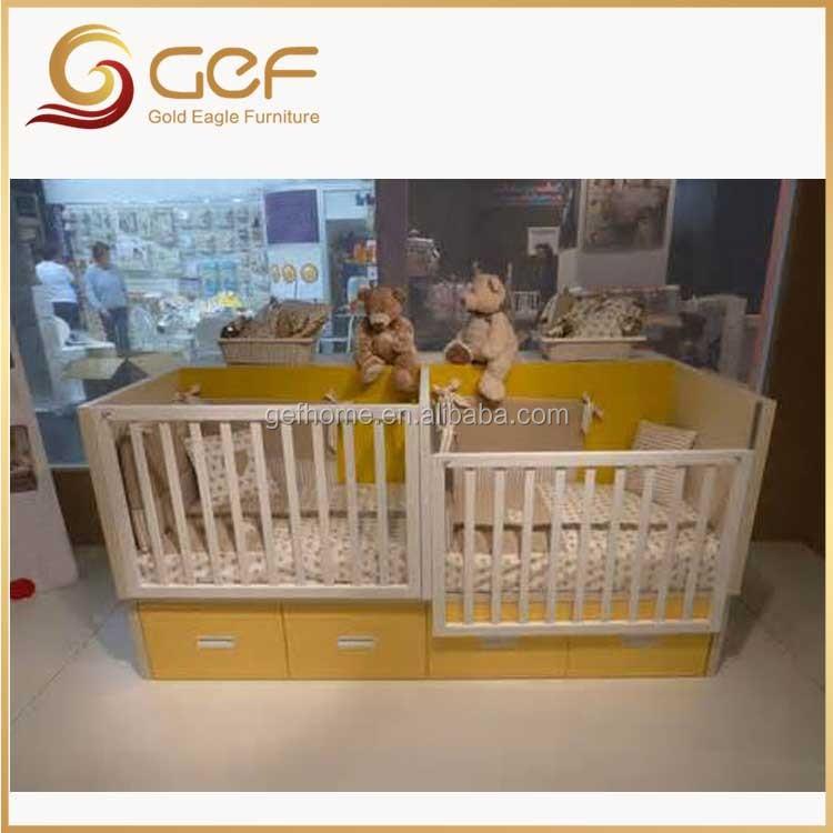 Jumeaux Bébés En Bois Berceau Lit Bébé Lit Pour Jumeaux Gef-bb-104 ...