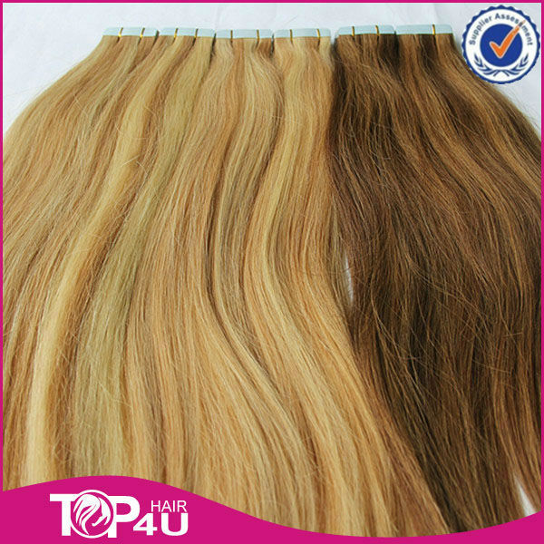 Hair extension adhesive tape pack source quality hair extension wholesale cheap curly russian hair tape hair extensions adhesive tape for hair extensions pmusecretfo Gallery