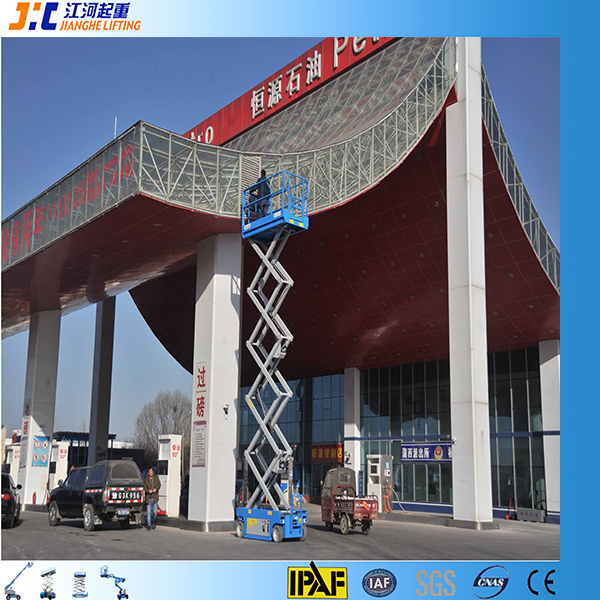 10m hydraulic high-altitude platform leasing man lift special vehicles exhibition