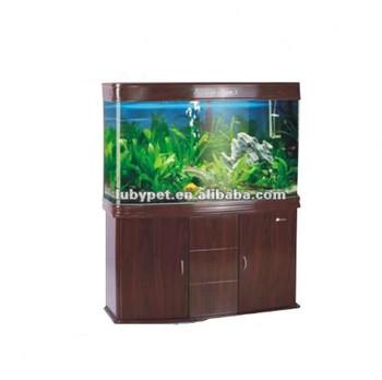Grote Maat Buigen Glas Aquarium Aquarium Voor Siervissenmet Houten Kast Buy Grote Aquaria Voor Koopglas Aquariumronde Glazen Aquarium Product On
