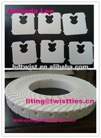 White Bread Packing Clips/tags/twist Ties