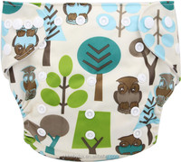 Ohbabyka Printed Cloth Baby Sleeping Diapers, Baby Diaper Stock Lots, Boy And Grils Lovely Baby Diaper