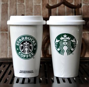 Starbucks Travel Coffee Mug Ceramic
