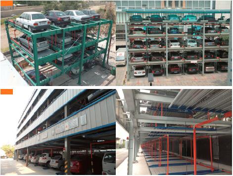 Toren Type Lifting/Overbrengen Serie Automatische Parking System (PSH7-15 lagen ...