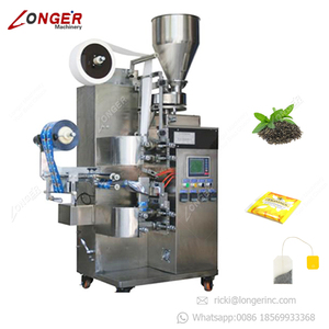 Automatic Inner and Outer Filter Paper Tea Leaves Bag Sealing Filling Packaging Machine Price Envelope Pouch Tea Packing Machine