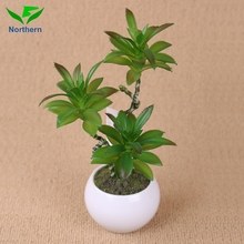 Home Decoration succulent plants artificial in decorative pots