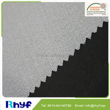 Good Quality Interfacing Fabric For Garments Warp Knitted Interlining For Men Suit 100% Polyester Woven Fusible Interlinin