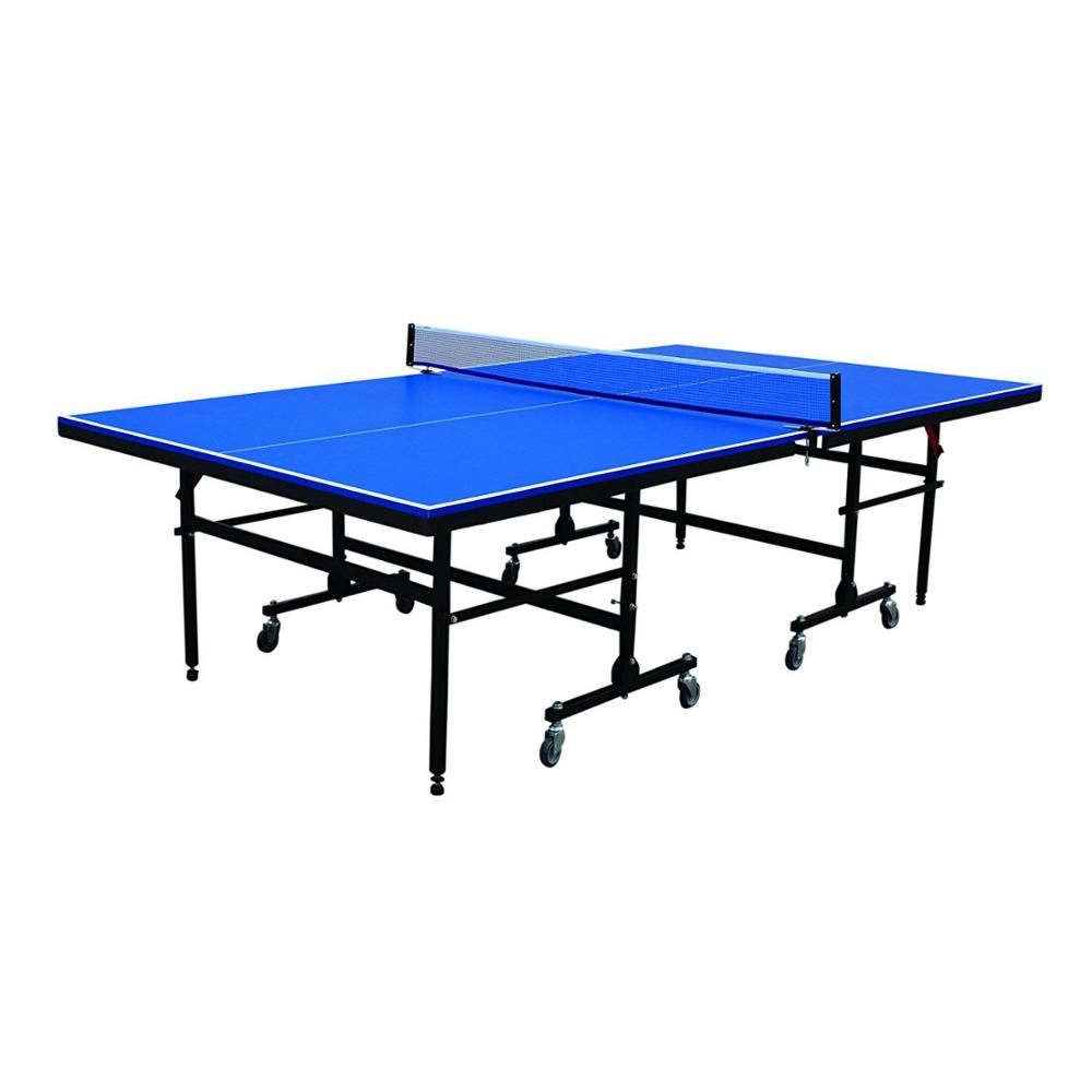 Indoor/outdoor single- vouwen handig ittf tafeltennistafel